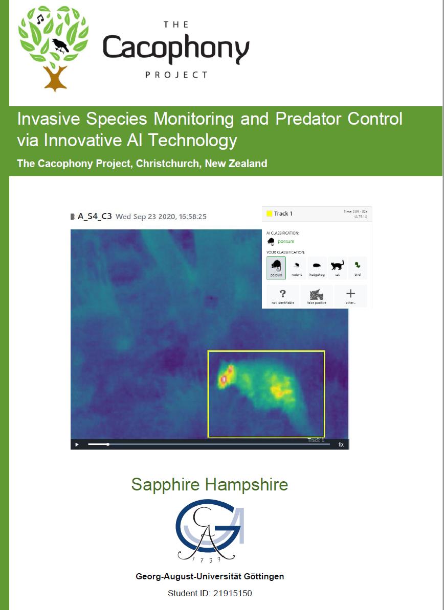 Sapphire Hampshire Report