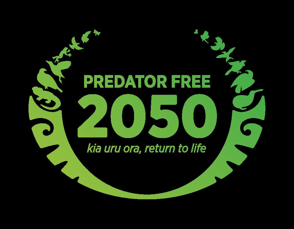 Predator Free 2050 logo